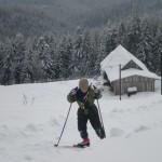 bieg narciarski wokół Mogielicy 24.01.2013